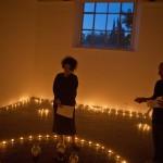 Villa Medici , teatro delle esposizioni #2 , Chloé Delaume , In bosco veritas , performance